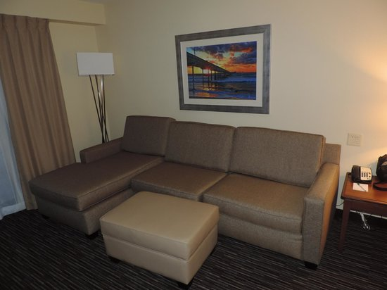 Homewood Suites by Hilton San Diego Airport - Liberty Station : Sofa in living area