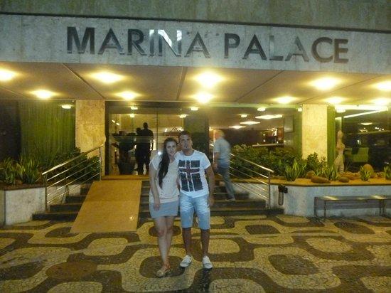 Hotel Marina Palace Rio Leblon: Entrada del Hotel