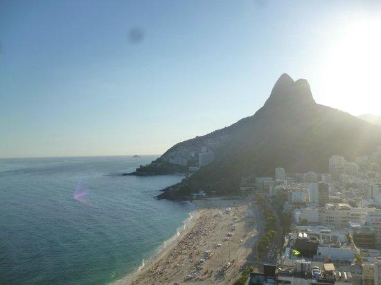 Hotel Marina Palace Rio Leblon: Vista desde la pileta