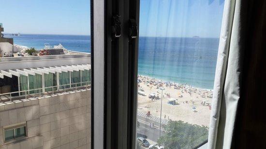 Hotel Marina Palace Rio Leblon: Vista Habitación 906