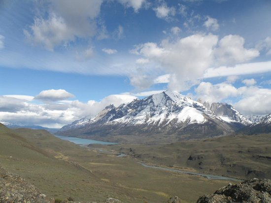 Ecocamp Patagonia: Spectacular view  at lookout point