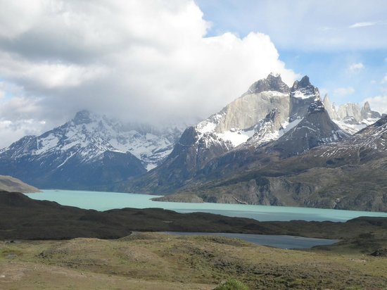 Ecocamp Patagonia: Look out point - Paine Grande