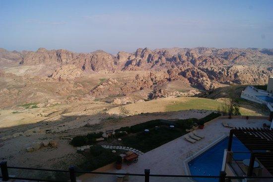 Petra Marriott Hotel : Mountain view