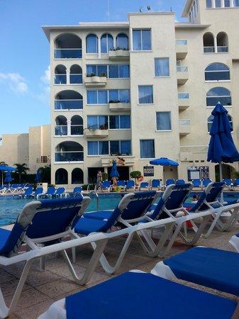 Occidental Costa Cancun : vista desde la habitacion