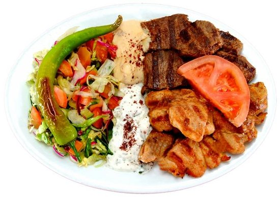 Shish Kebab Meal Picture Of Turkish Kebabs Melbourne Tripadvisor