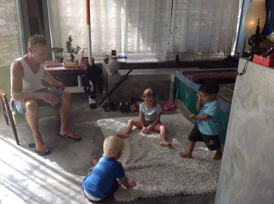 AmAya Spa: a small children friendly spa
