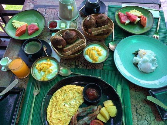 The Kala Samui : Breakfast