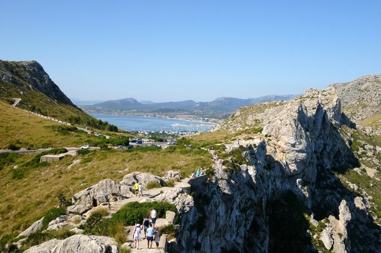 Cap de Formentor: Mirador Es Colomer