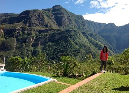 Gocta Andes Lodge: vista espectacular