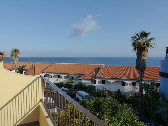 Vila Ventura : Blick vom Balkon in Richtung Meer