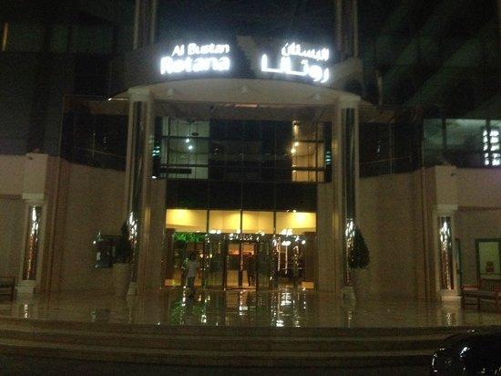 Al Bustan Rotana - Dubai: Hotel entrance