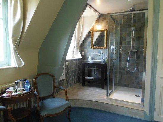 Château de Launay : Chambre Azure