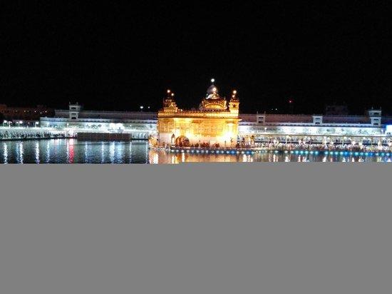 Templo Dorado: Night View