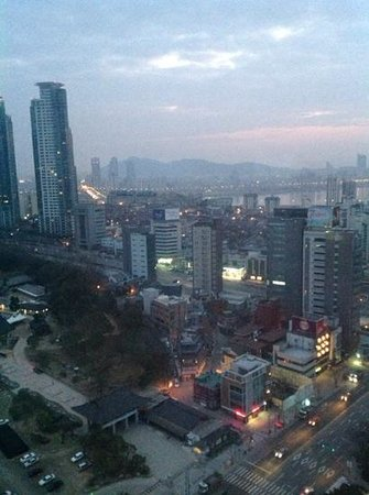 InterContinental Seoul COEX : Early morning view