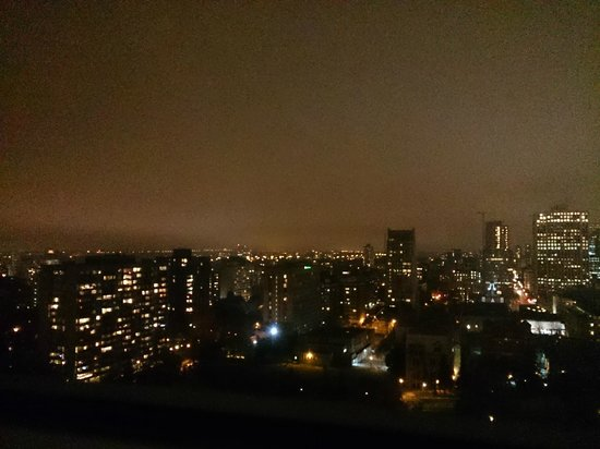 University of Ottawa Residences: Night view from 20th floor