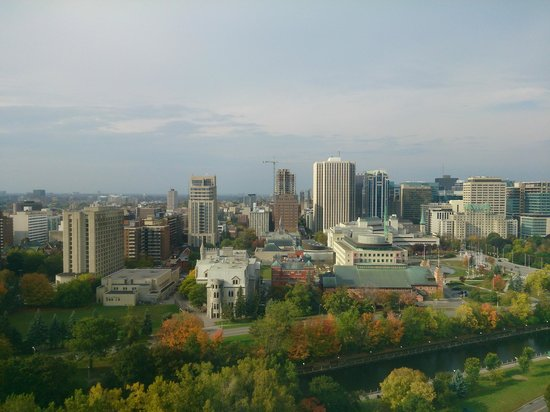 University of Ottawa Residences: Day view from 20th floor