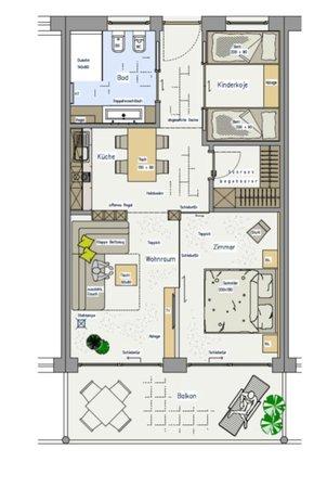 Vita Aktiv Hotel Der Heinrichshof: Ansicht Appartement / Suite