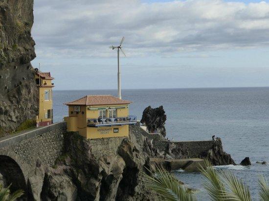 Enotel Baia: Blick von der Dachterrasse