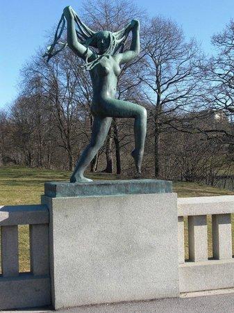 Museo de Vigeland: Одна из скульптур