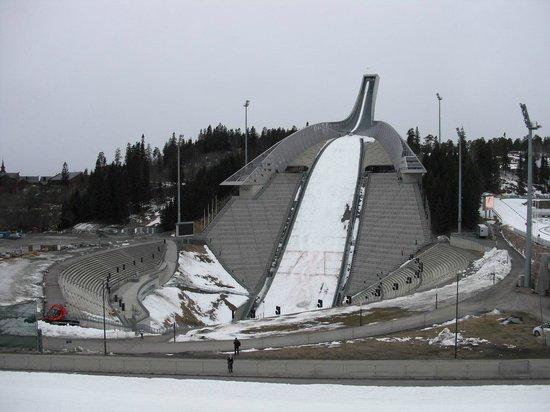 Musée du ski de Holmenkollbakken : Трамплин