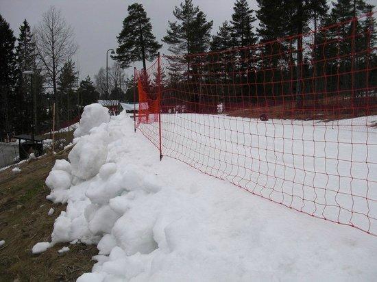 Musée du ski de Holmenkollbakken : Лыжня в марте 2014