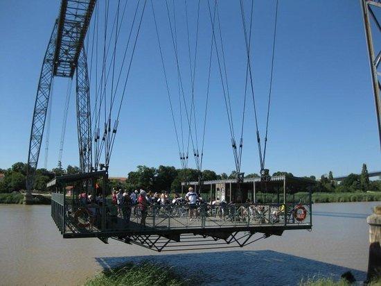 Pont Transbordeur - Maison du Transbordeur : ロシュフォールの運搬橋