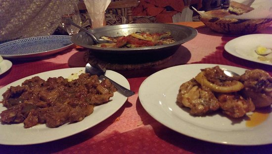 Auberge du Sud : 今回の旅で一番美味しかったテントでの夕食