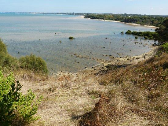Screw Creek Nature Walk: Views across the inlet