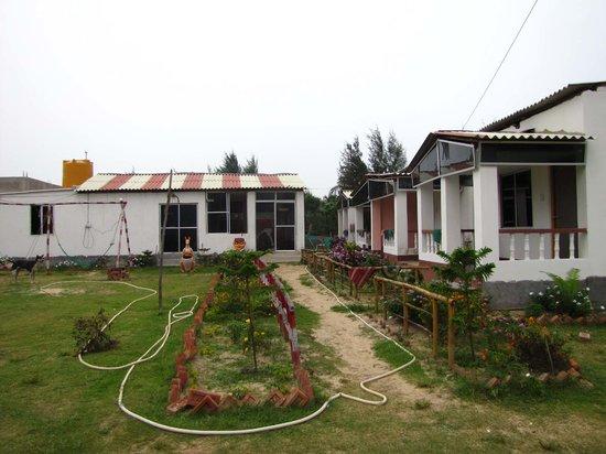 Tajpur Palm Village Resort Lawn