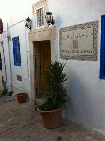 Hotel Bou Fares: Hotel sidi bou fares