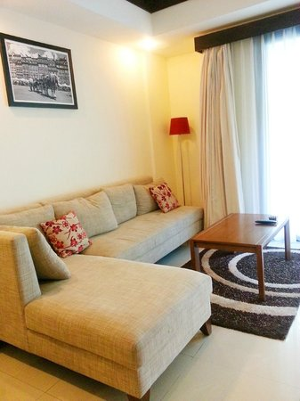 Seminyak Town House: Living Room
