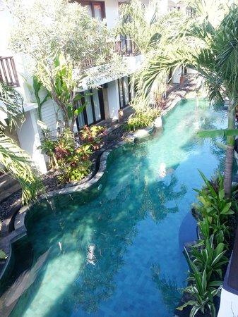 Seminyak Town House: Pool Area