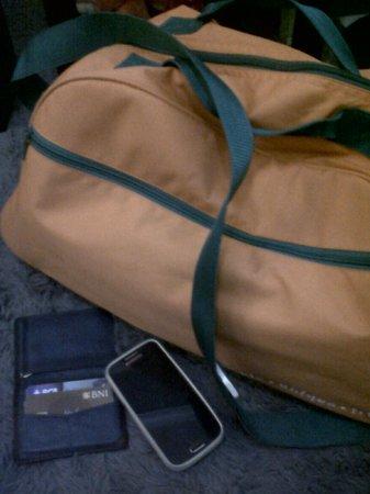 The Jimbaran View: harris travel bag
