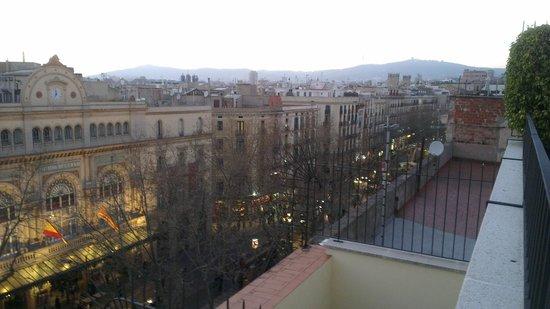 Flor Parks Hotel: выход на крышу