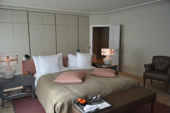 Le Grand Bellevue : Notre chambre