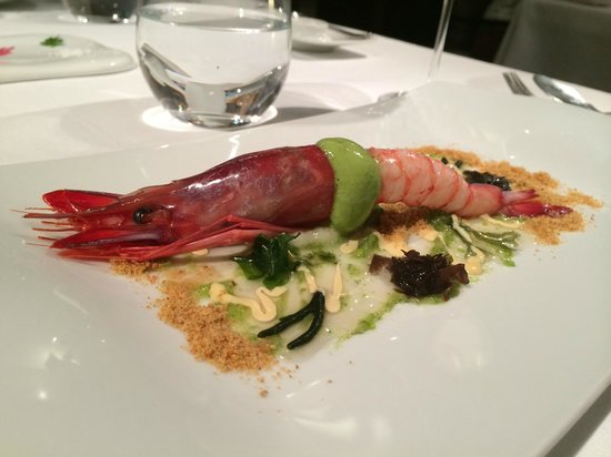 Restaurante Lasarte: Red Prawn
