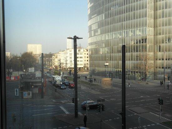 Leonardo Royal Hotel Düsseldorf Königsallee: View from room
