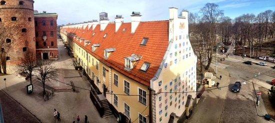 Astor Riga Hotel & Conference: Вид с углового номера на 5 этаже