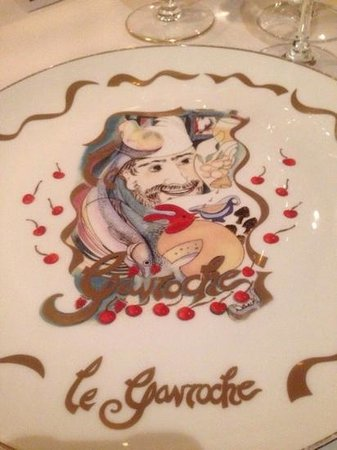 Le Gavroche: originele borden....
