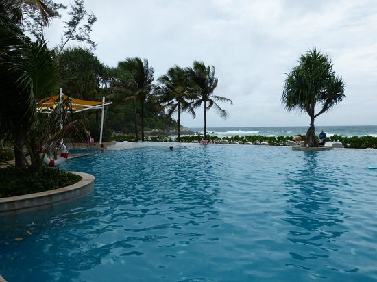 Katathani Phuket Beach Resort: One of the many pools we swam in.
