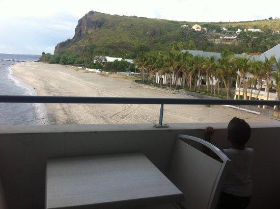 Hotel Boucan Canot: vue de la chambre