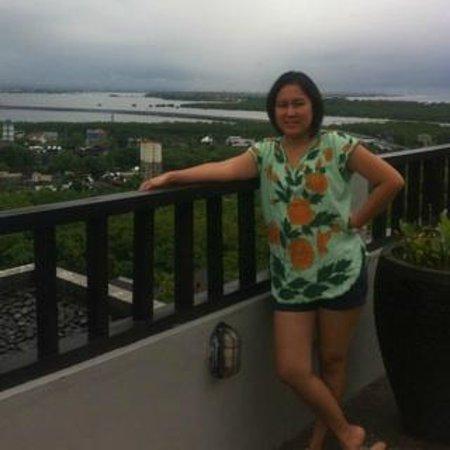 Park Hotel Nusa Dua: view saat breakfast