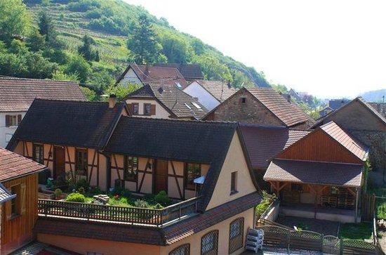 Auberge du Cheval Blanc: vue de la chambre