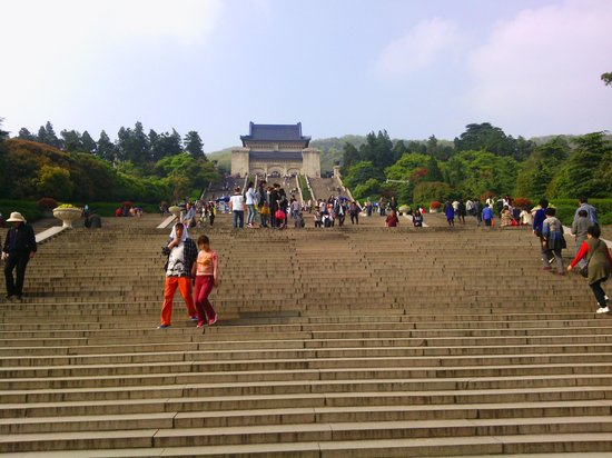 Jinjiang Inn Nanjing Railway Station First: Stairway to heaven. Great view from the top.