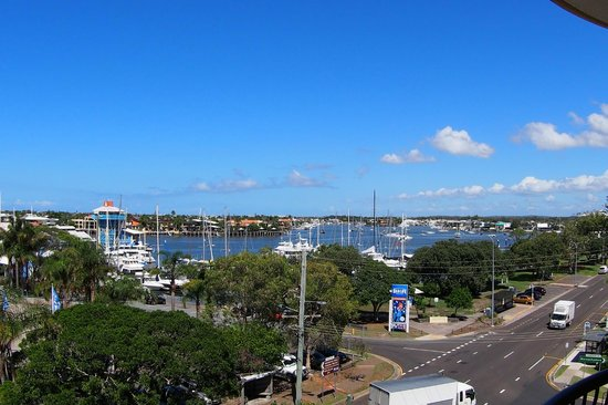 Nautilus Mooloolaba: The View from room 51 (Queen)