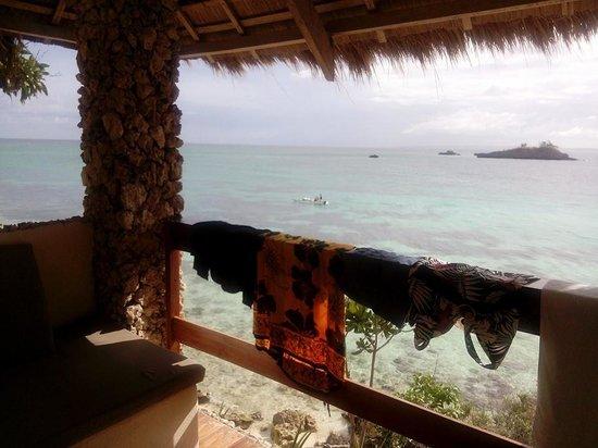 Tepanee Beach Resort: balcony view