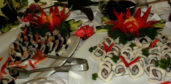 Sirenis Punta Cana Resort Casino & Aquagames : Buffetrestaurant Saona mit japanischen Gerichten