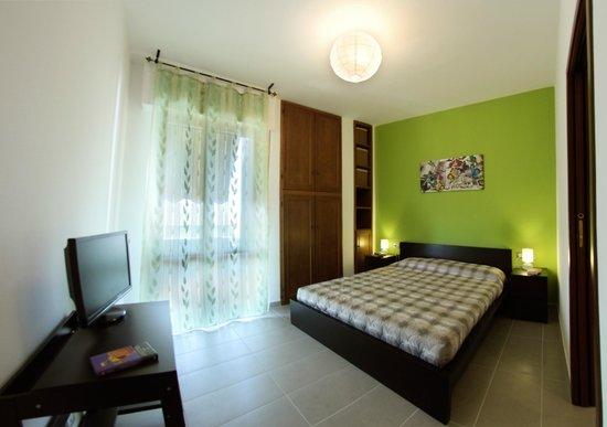 La Terrazza: camera verde
