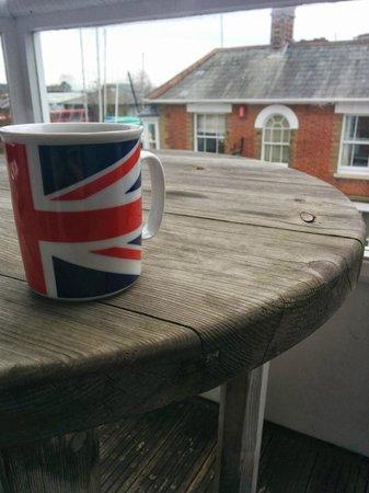 Britannia House: A good cuppa!