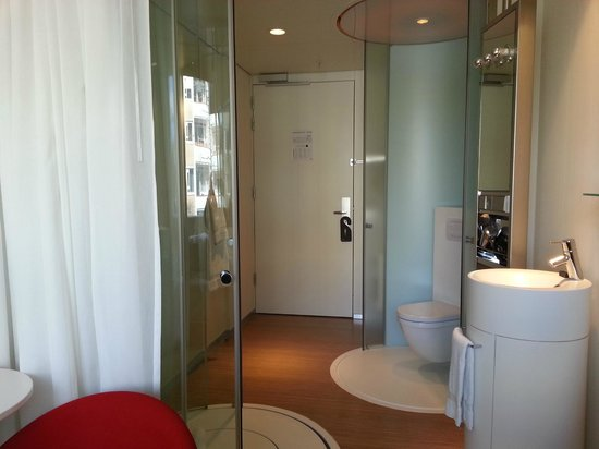 citizenM Amsterdam: The room, toilet location is not for everyone! But didn't bother me.
